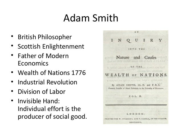 adam smith s contribution to economic thought One of the physiocrats' more dubious contributions to economic thought was their view that only adam smith's presbyterian conscience led him to value the.
