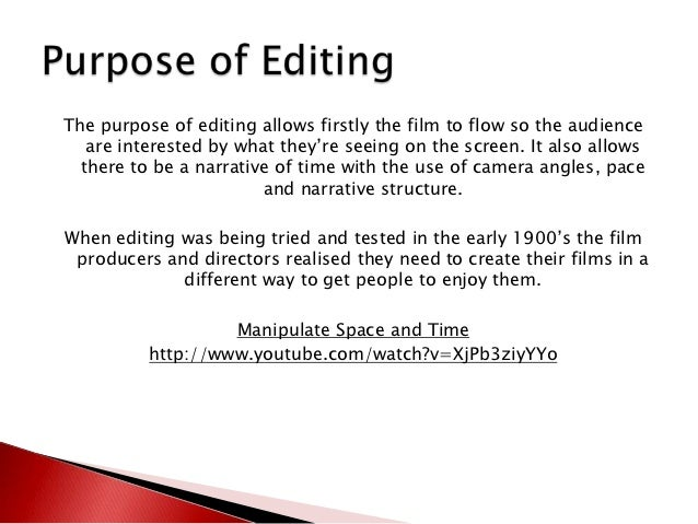 history of editing First montage edit used in a film, a montage of close-ups of faces and objects and long-shots, all rapidly cut together from the last few films we can see that film.