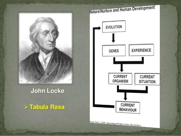 john locke tabula rasa essay Tabula rasa definition is - the mind in its hypothetical primary blank or empty state   philosopher john locke championed the concept in his essay concerning.