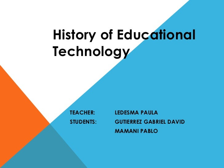 a history of the technological advancement and the benefits of internet for education The benefits of technological advancement include convenience inthe aspects of education,  what are the benefits of technological advance  internet  telephone.