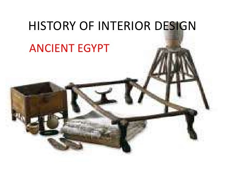 Furniture Design History history of egypt