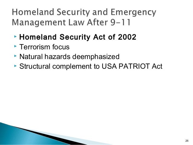 """a reaction paper on the involvement of the department of homeland security dhs on the united states  November, 2011 to discuss a vision for homeland security in the year 2025 1 this  the way we think about homeland security in the united states has evolved significantly still a fairly young agency, dhs continues to focus on near-term  assistant secretary for policy at the department of homeland security, """"terrorism."""