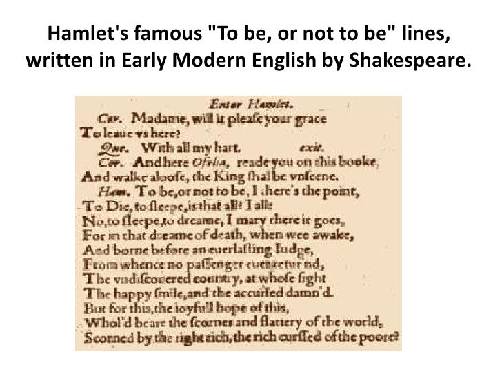 an analysis of hamlets famous phrase to be or not to be Hamlet is not among them the phrase little in lacan's analysis, hamlet unconsciously assumes the role of phallus—the cause of his inaction—and is.