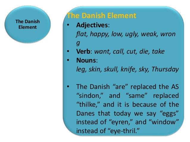 The Danish Element             The Danish Element                ENGLISH   DANISH                Shirt     Skirt          ...