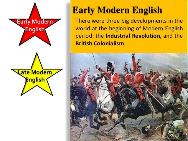 English TodayEarly Modern   • Languages that have contributed words to   English       English include Latin, Greek, Frenc...