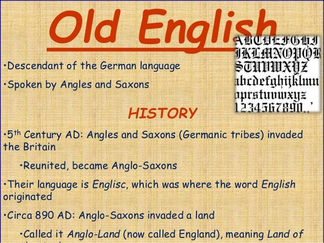 history of english language English language: english language, a west germanic language of the indo-european language family that has become the world's lingua franca.