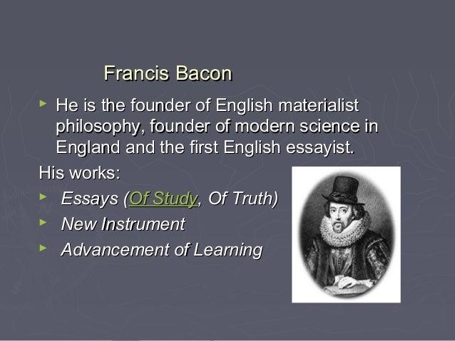 history of english literature sajid  macbethmacbeth 36 francis baconfrancis bacon
