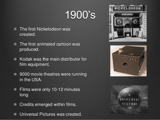 history of movie