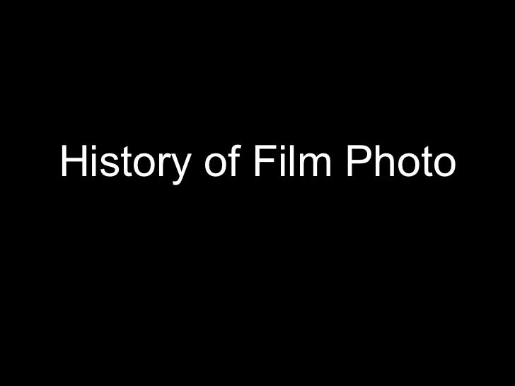 History of Film Photo