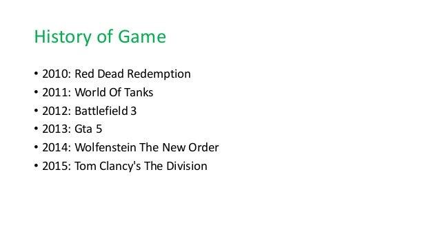 History of game evolution