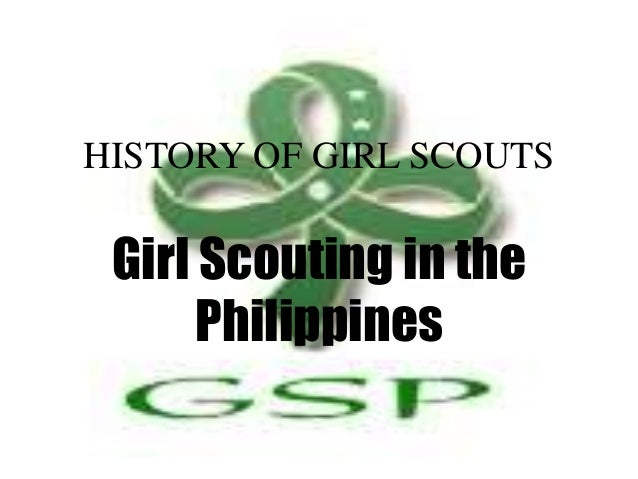 history of girl scout