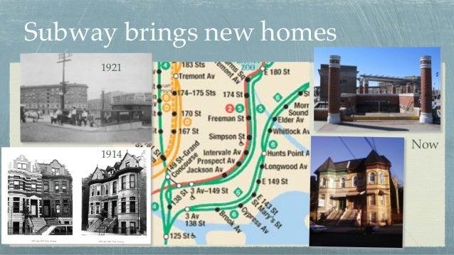 Now Subway brings new homes 1921 1914