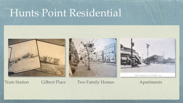 Hunts Point Residential Train Station Gilbert Place Two Family Homes Apartments