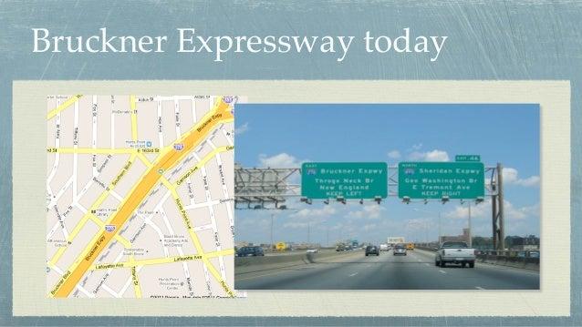 Bruckner Expressway today
