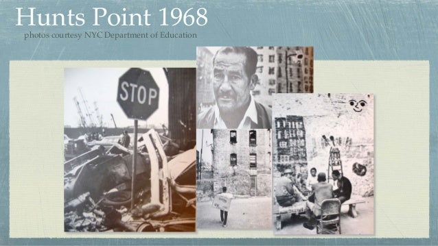 Hunts Point 1968photos courtesy NYC Department of Education