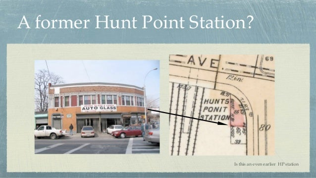 A former Hunt Point Station? Is this an even earlier HP station