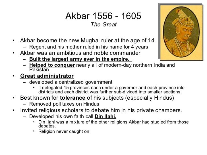akbar biography in english