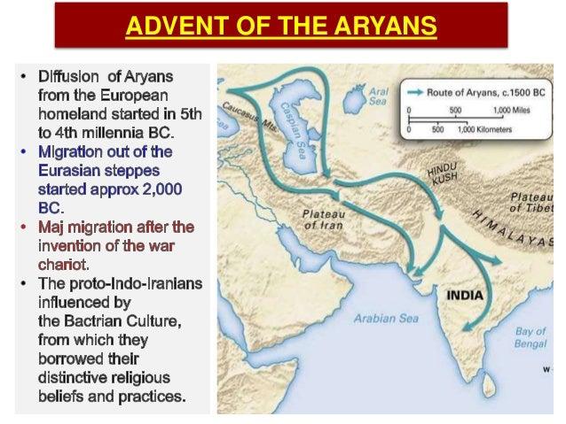 advent of aryans