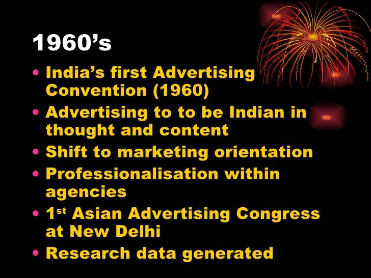history of indian advertising Marketing as a recognized profession has a brief, yet significant history, stemming from a company's need to set itself apart in a crowded marketplace.