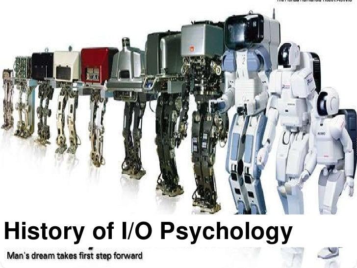 History of I/O Psychology <br />
