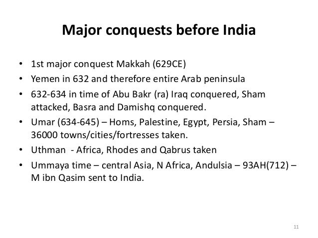 History of Islam in India