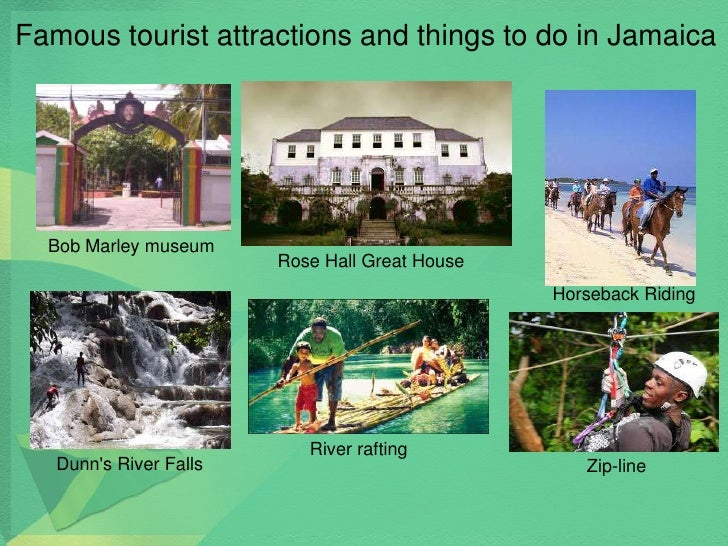 Jamaica and Jamaican culture – Tourist Attractions Map In Jamaica