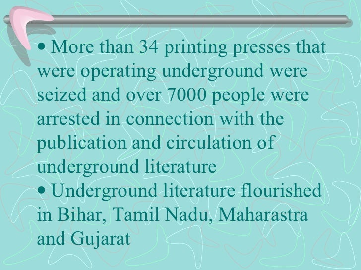   More than 34 printing presses that were operating underground were seized and over 7000 people were arrested in...