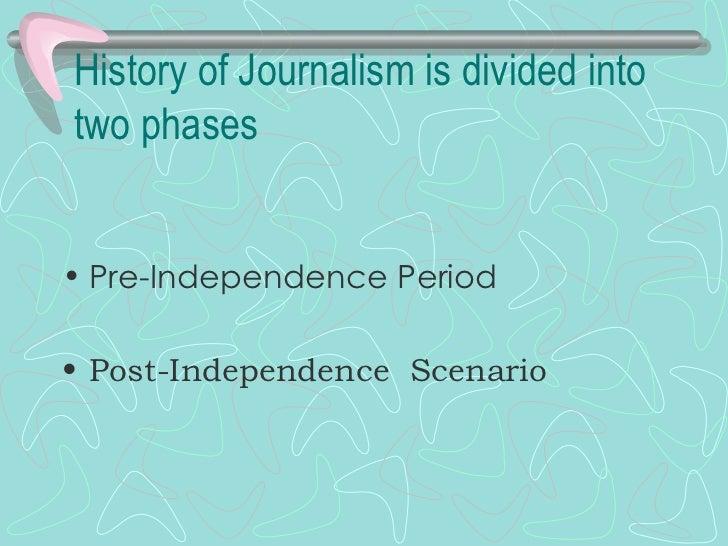 print journalism notes