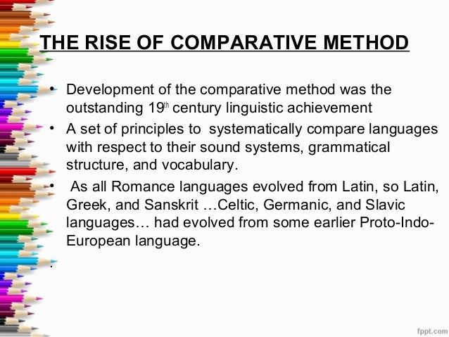history of historical linguistics Historical linguistics, also called diachronic linguistics, is the scientific study of language change over time principal concerns of historical linguistics include: [2] to describe and account for observed changes in particular languages.