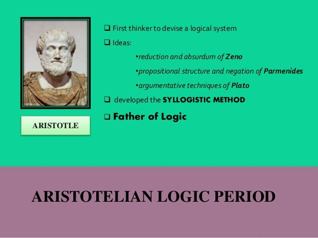understanding deductive reasoning from aristotles point of view Aristotle disagreed with plato on this point,  extreme view that aristotle's concept of  state is quite different from aristotle's understanding.