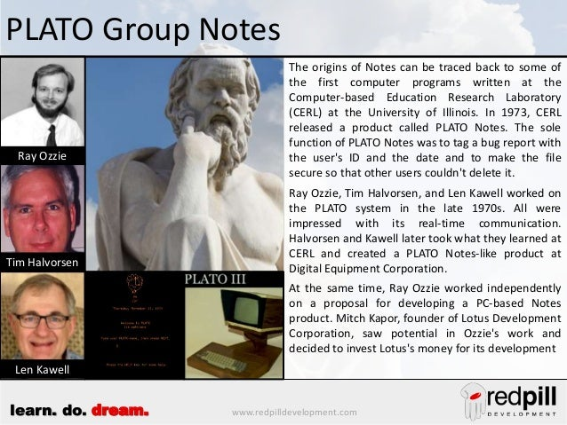 The History of Lotus Notes Slide 2