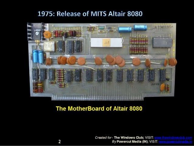 History of Microsoft Slide 2