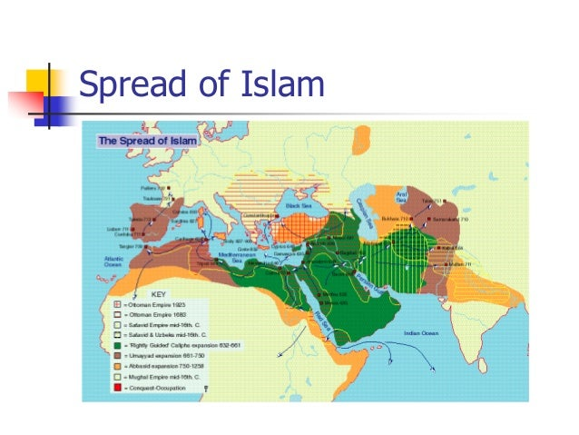 spread of islam in europe Algebra came to europe via the moorish invasion of spain islam at the time represented the flower of civilization while northern europe was still in.