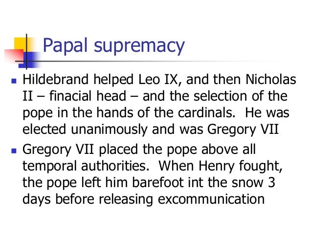 papal supremacy innocent iii essay Pope innocent iii born lotario dei conti di segni reigned from 8 january 1198 to  his death in 1216 pope innocent was one of the most powerful and influential of  the medieval popes he exerted a wide influence over the christian states of  europe, claiming supremacy over all of europe's kings  an essay on his  life and times.