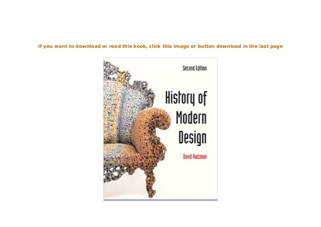 History of Modern Design 2nd Edition