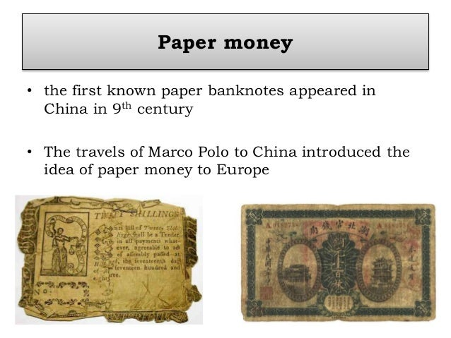 history of money essay A bbc bitesize secondary school revision resource for higher history on source  when planning your essay you should  because of the wealth of money,.