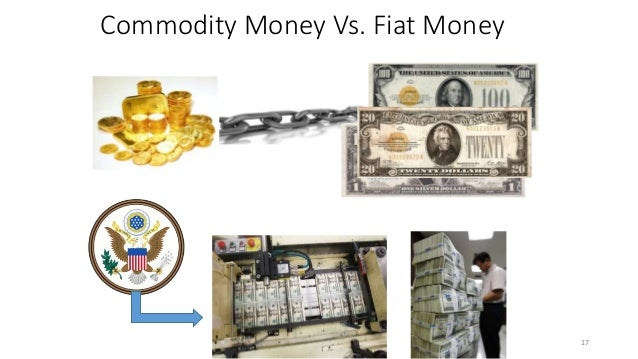 an overview of money commodity money of the car company fiat