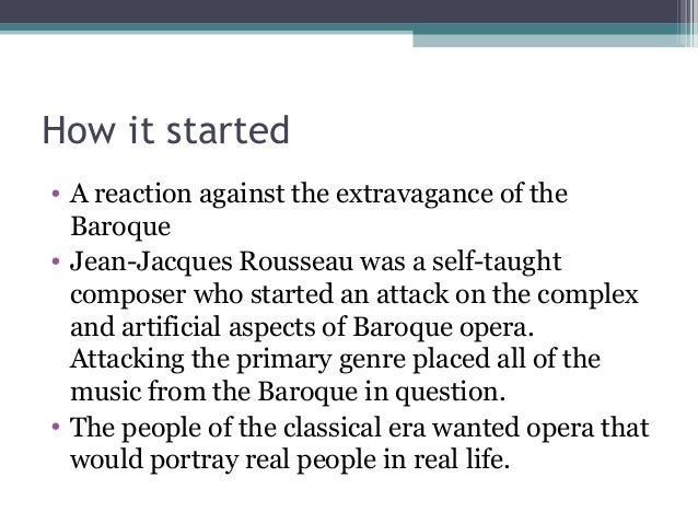 classical and baroque music essay The baroque period covers the period between 1600 and 1750 there are two  major trends of the baroque art: the dynamic and the classical trend the  dynamic.