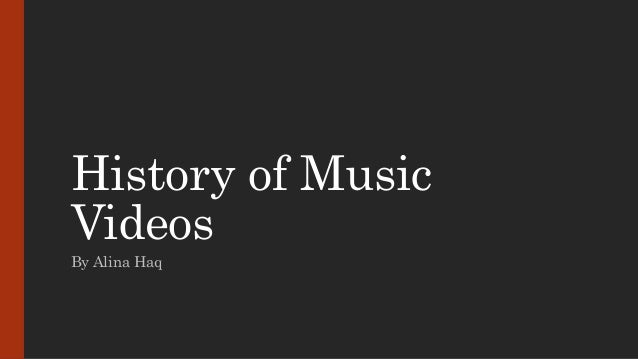 History of music videos for History of house music