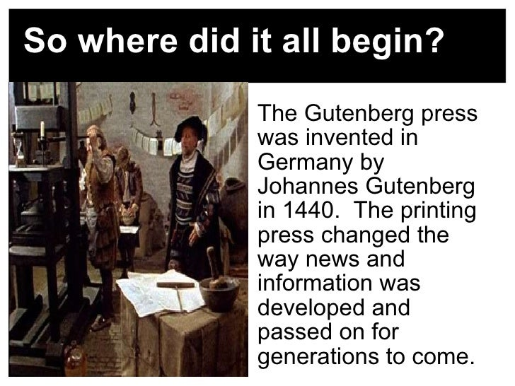 how did the printing press change the world