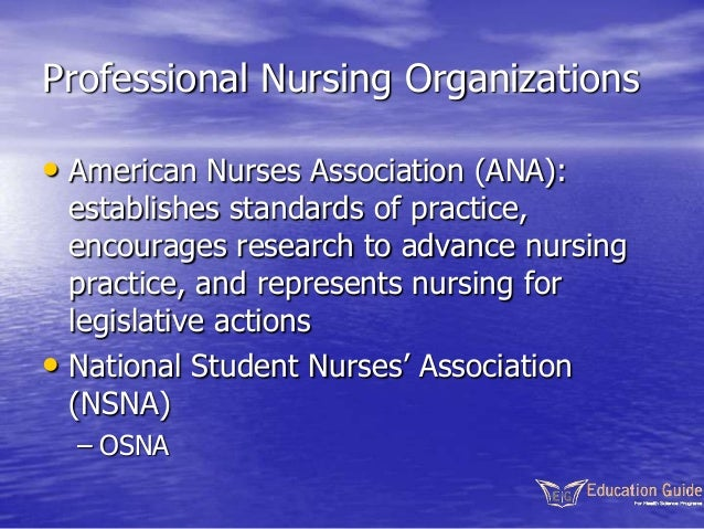value of professional nursing organizations in networking and legislative process Explain the value that professional nursing organizations in networking and in the legislative process provide a rationale for your response read more.