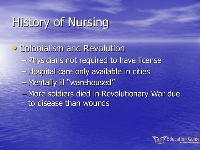 "the history of nursing and the 2 inculcate the highest and best traditions of nursing as a profession open to women required for nursing students"" lucille secord warren ab, rn was instructor in nutrition and history of nursing in."