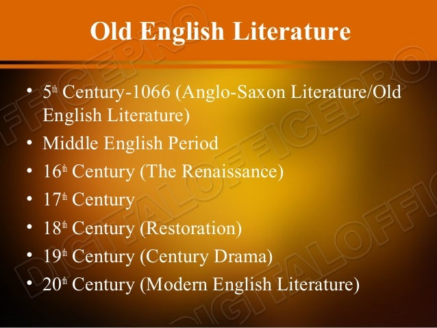 history of old english The old english language, often called anglo-saxon, was spoken in england from 450ad to 1100ad it was spoken by the anglo-saxons who came to england from what is now germany and denmark  old english is very different from modern english  it has many more germanic words, and its grammar is more difficult and closer to old german.