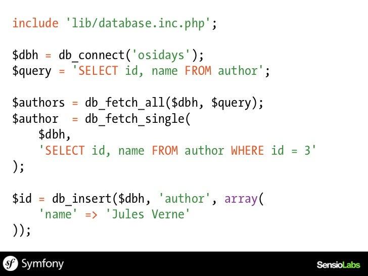 PHP 4OOP & Reusability
