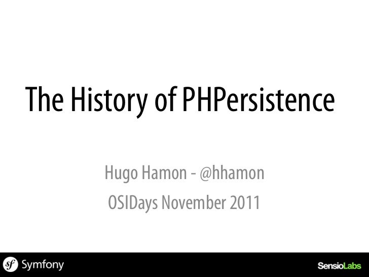 PHP/FIWhere Everything Begins…