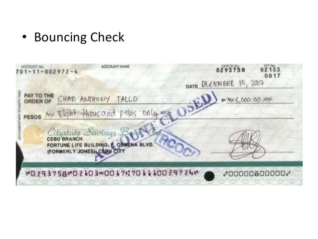 What Is the Legality of a Postdated Check?