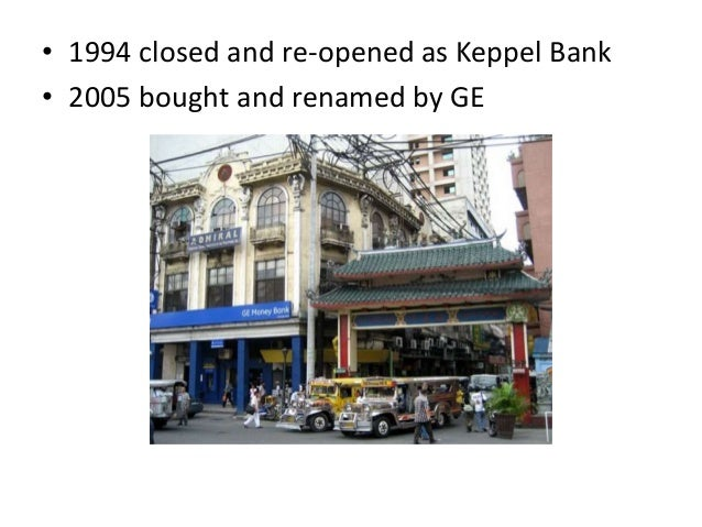 history of philippine banking system The regulation of financial conglomerates in the philippines by natalia w santos introduction apart from the bsp's consolidated approach to the supervision of banks, there is no framework.