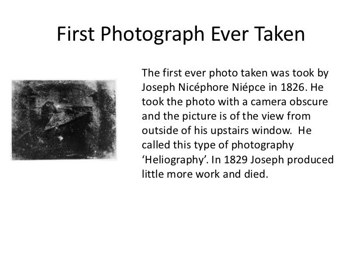 History Of Photography Powerpoint