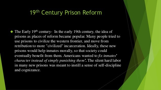 the history of prisons in america Prisons: history - a land of prisoners jails were among the first public structures built in colonial america besides serving as a necessary receptacle and staging place for reluctant emigrants, jails were an integral part of the system of bondage that existed in america.