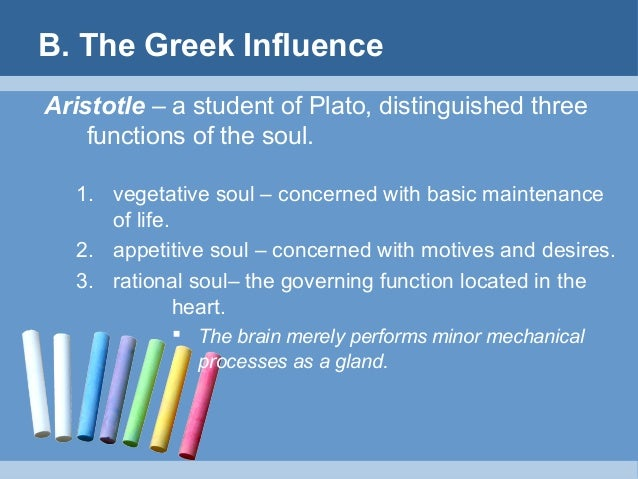 greek influence in psychology In greek mythology,  classical mythology — the myths of the ancient greeks and romans — has had an enormous influence on european and american culture.